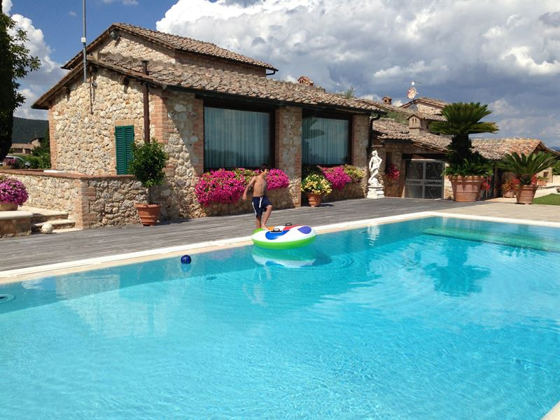 Treccianino Villa swimming pool